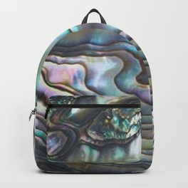 Shimmery Pastel Abalone Shell Backpack
