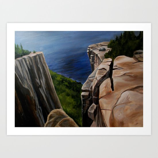 Top of the Giant  Art Print