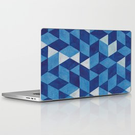 tricky triangles Laptop & iPad Skin