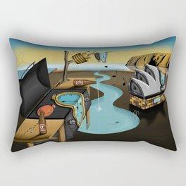 Where Time Stands Still - Surreal Sydney  Rectangular Pillow