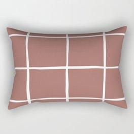 Terracotta tiles Rectangular Pillow