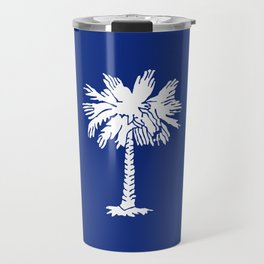 South Carolina State Flag Travel Mug