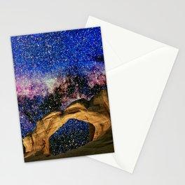 Broken Arch Night Sky Design Stationery Cards