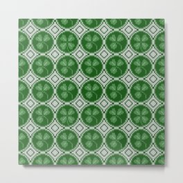 Four leaf clover St Patrick's Day Metal Print