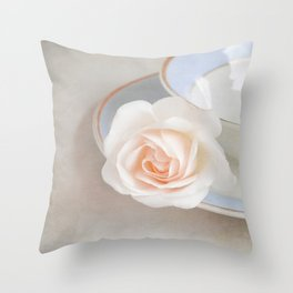 The Sweetest Rose Throw Pillow