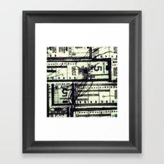 Muni Breaks Mixed Media by Faern Framed Art Print