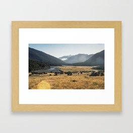 //05-14 HAAST HIGHWAY Framed Art Print