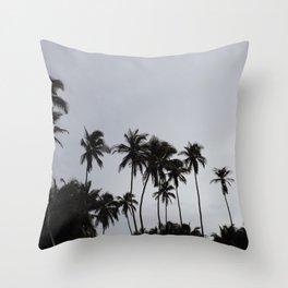 Beach don't kill my vibe Throw Pillow