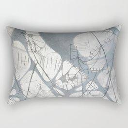 Connections#2 Rectangular Pillow