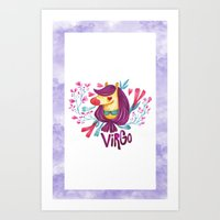 12 Zodiacs : Virgo Art Print