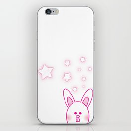 Bunny Love iPhone Skin