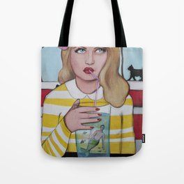There's a merman in your drink Tote Bag