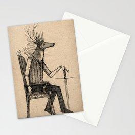 Deer King Stationery Cards