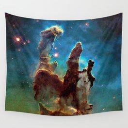Eagle Nebula's Pillars Wall Tapestry