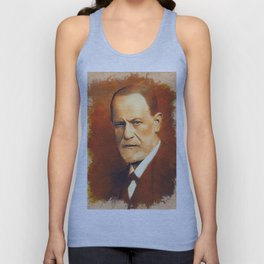 Sigmund Freud Unisex Tank Top