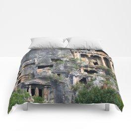 Rock Tombs Photograph Fethiye Comforters