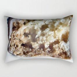 Salted caramel chocolate biscotti Rectangular Pillow