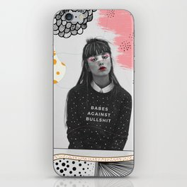 Babes Against Bullshit iPhone Skin