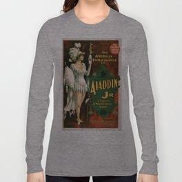 Vintage poster - Aladdin Jr. Long Sleeve T-shirt