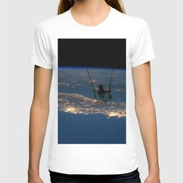 """Big Swing Thing"" by Barry James Lee T-shirt"