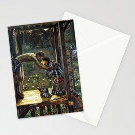 Edward Burne-Jones The Merciful Knight Stationery Cards