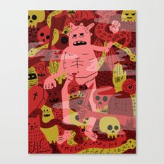 Full Dungeon  Canvas Print