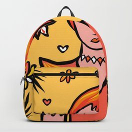 Glamazon Girl: Fuego Backpack