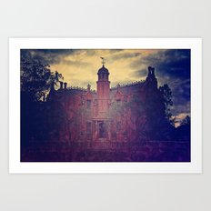 Haunted Mansion Art Print