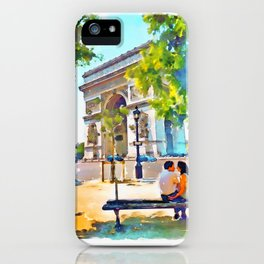 The Arc de Triomphe Paris iPhone Case