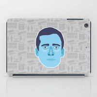 michael scott iPad Cases featuring Michael Scott - The Office by Kuki