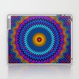 Guilloché Spirograph Tribal Motif  Laptop & iPad Skin