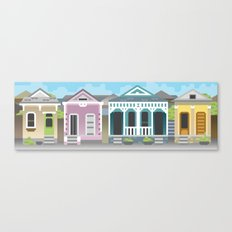 New Orleans Houses Canvas Print