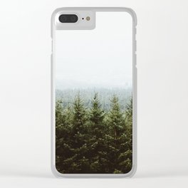 Beyond The Pines Clear iPhone Case