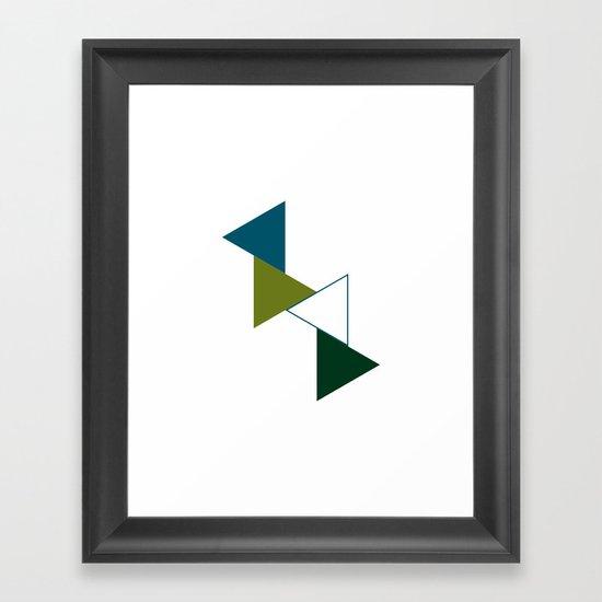 #383 Flux – Geometry Daily Framed Art Print