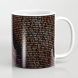 The Shape of Grohl Coffee Mug