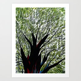 Dreamland Tree Art Print