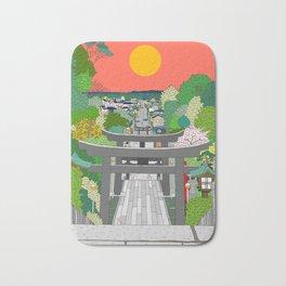 Passage to Light - Miyajidake Shrine Bath Mat