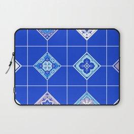 Talavera Mexican Tile – Blue Palette Laptop Sleeve