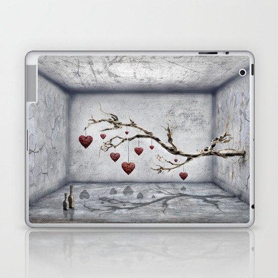 Der alte Liebesbaum  Laptop & iPad Skin