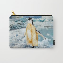 Penguin Chick In The Arctic Carry-All Pouch