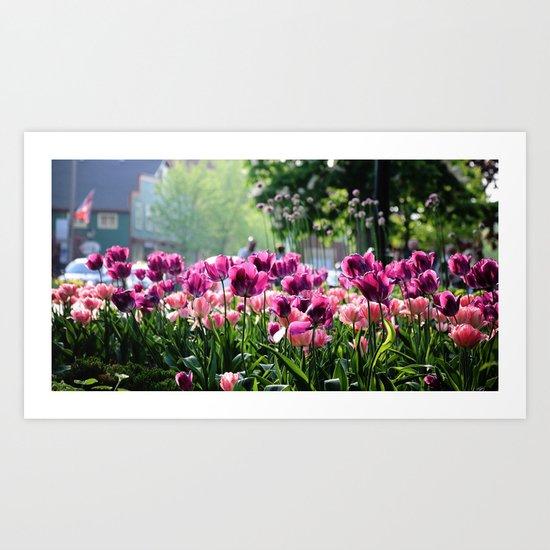 Purplicious Spring Art Print