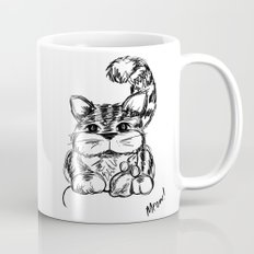 Unlikely Friends :: Cat & Mouse Mug