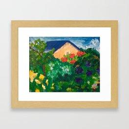 Jardins d'Henriette Framed Art Print