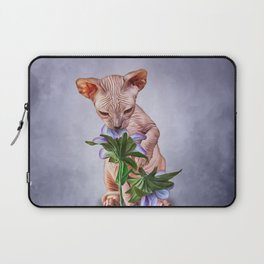 Drawing Sphynx kitten Laptop Sleeve