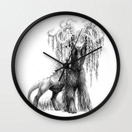 Salix babylonica Wall Clock