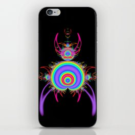 Creature of the deep iPhone Skin