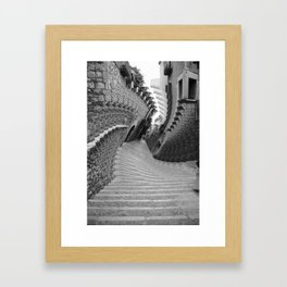 Twisty Framed Art Print