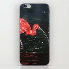 Scarlet Ibis iPhone Skin