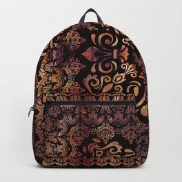 Oriental Damask Ornament - Vintage #3 Backpack