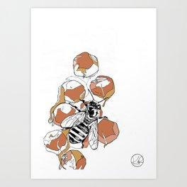 Royal Jelly Art Print